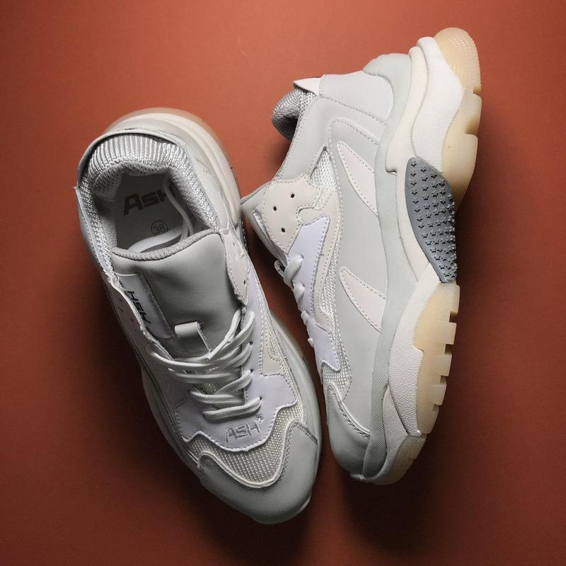 Шикарные женские кроссовки ash addict sneakers pink white 😍 (в... - Фото 8