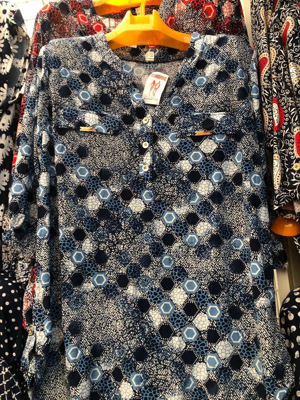 Блузки туники - Фото 15