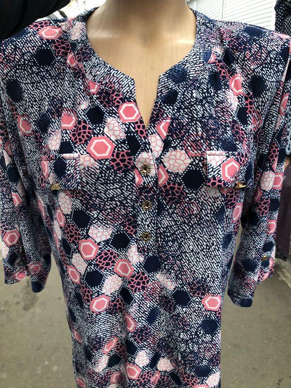 Блузки туники - Фото 16