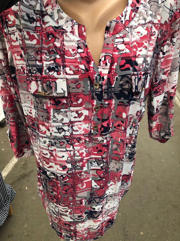 Блузки туники - Фото 17