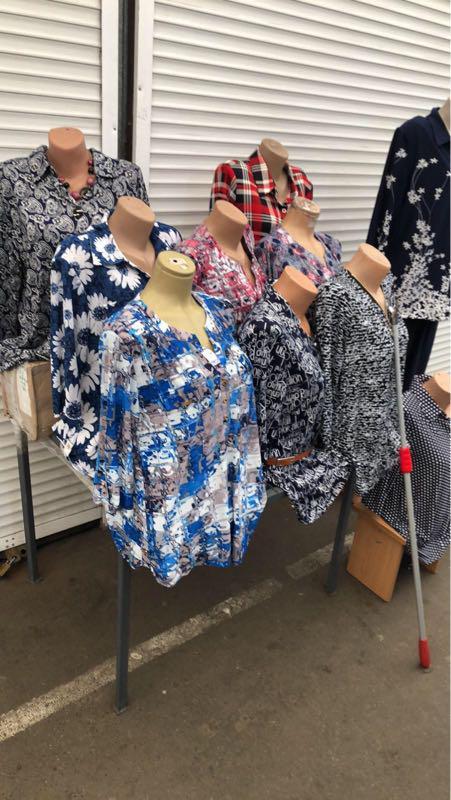 Блузки туники - Фото 18