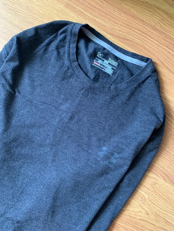 Шикарная мужская футболка under armour grey 😍 - Фото 2