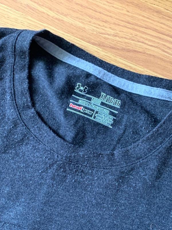 Шикарная мужская футболка under armour grey 😍 - Фото 3