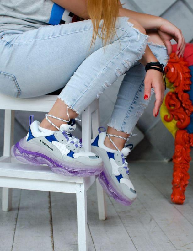 Женские хайповые кроссовки со слоеной подошвой  😍 (весна/ лето... - Фото 5