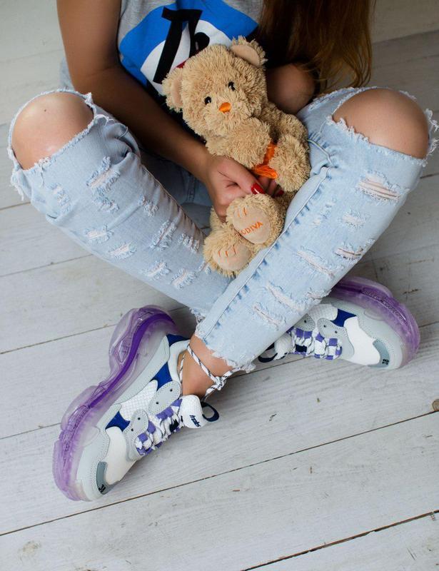 Женские хайповые кроссовки со слоеной подошвой  😍 (весна/ лето... - Фото 6