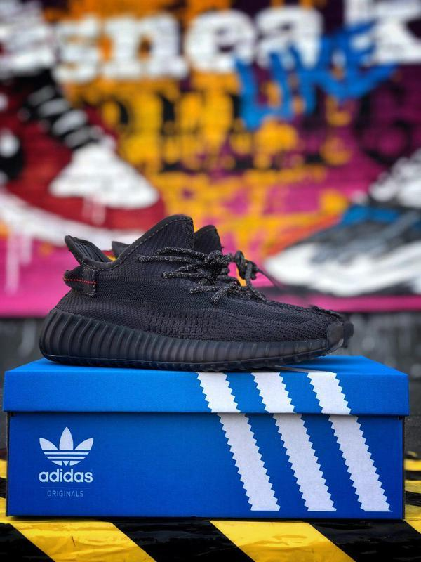 Кроссовки adidas yeezy 350  черного цвета унисекс 😍 (весна/ ле... - Фото 4