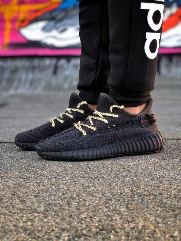 Кроссовки adidas yeezy 350  черного цвета унисекс 😍 (весна/ ле... - Фото 5