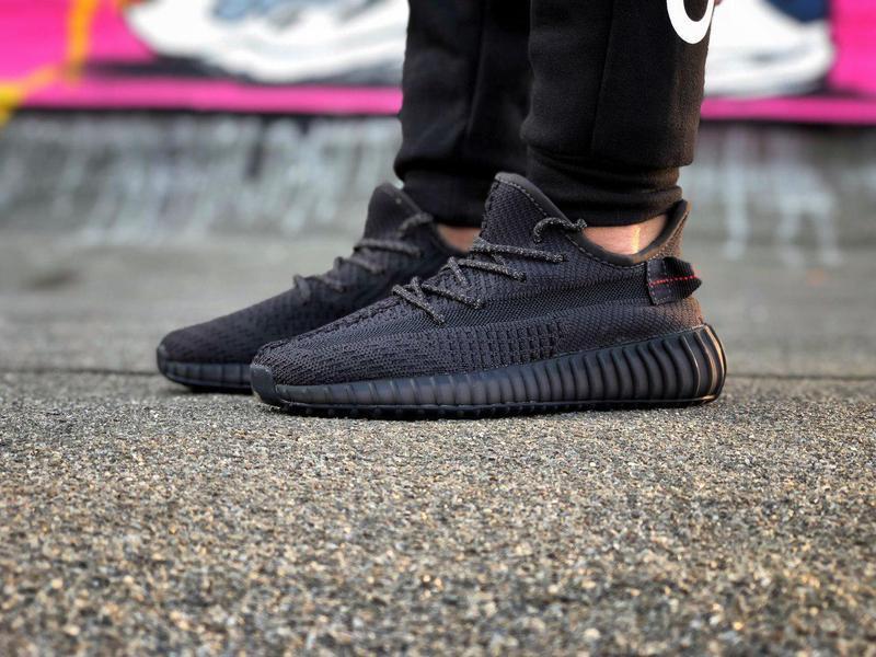 Кроссовки adidas yeezy 350  черного цвета унисекс 😍 (весна/ ле... - Фото 6