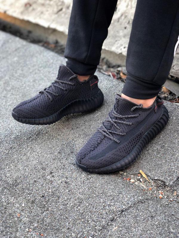 Кроссовки adidas yeezy 350  черного цвета унисекс 😍 (весна/ ле... - Фото 8