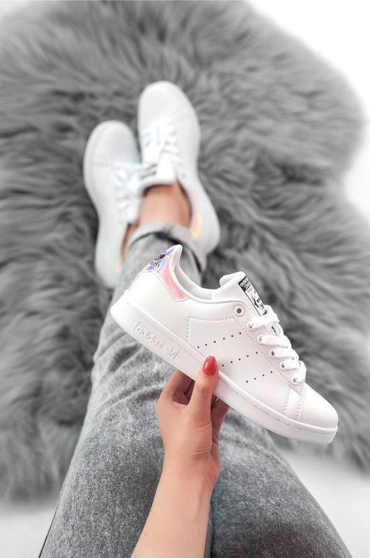 Шикарные женские кроссовки adidas stan smith white 😍 (весна/ л... - Фото 2