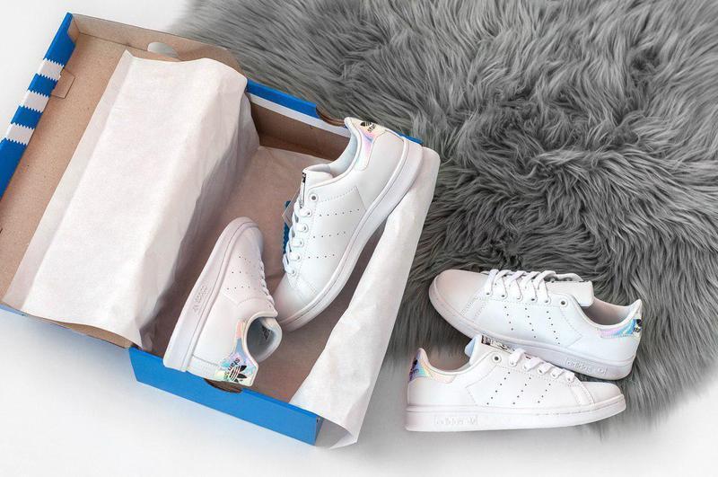 Шикарные женские кроссовки adidas stan smith white 😍 (весна/ л... - Фото 3
