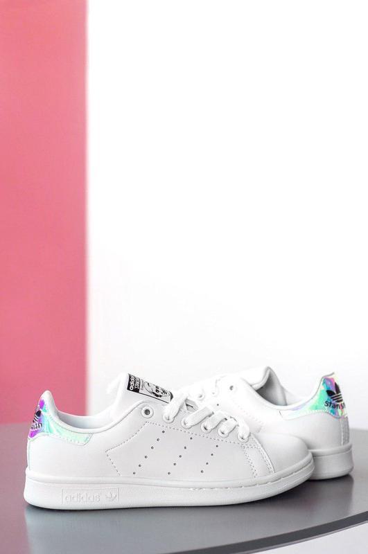 Шикарные женские кроссовки adidas stan smith white 😍 (весна/ л... - Фото 4