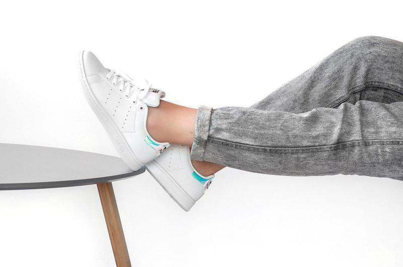 Шикарные женские кроссовки adidas stan smith white 😍 (весна/ л... - Фото 5
