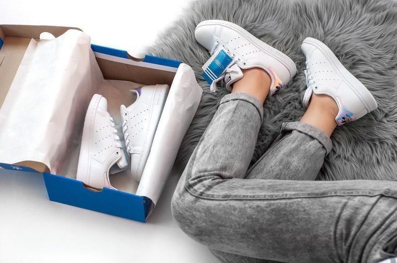 Шикарные женские кроссовки adidas stan smith white 😍 (весна/ л... - Фото 6