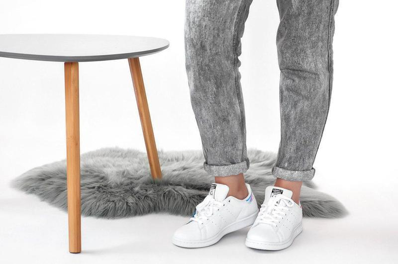 Шикарные женские кроссовки adidas stan smith white 😍 (весна/ л... - Фото 9