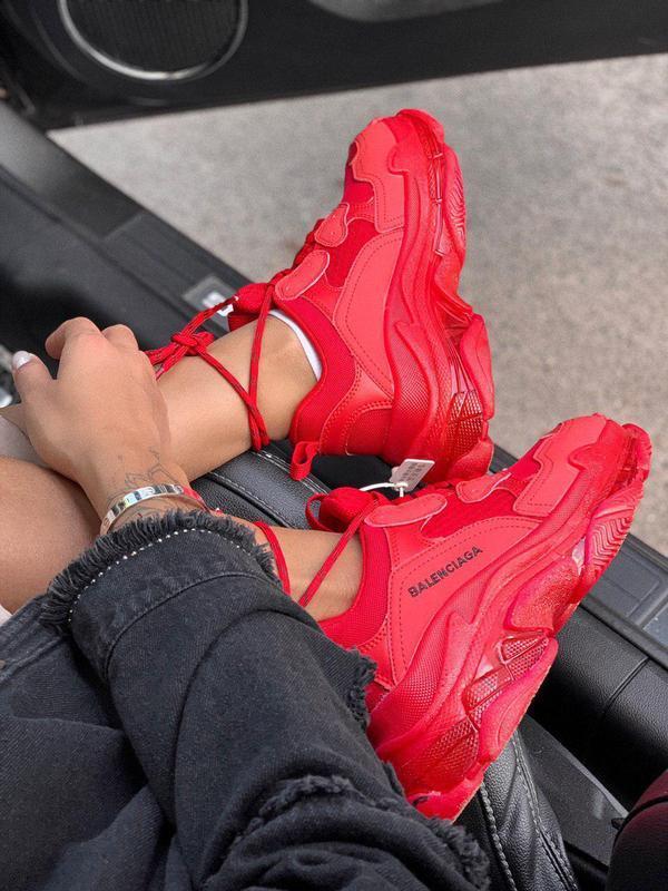 Шикарные хайповые кроссовки со слоённой подошвой унисекс 😍 (ве... - Фото 3