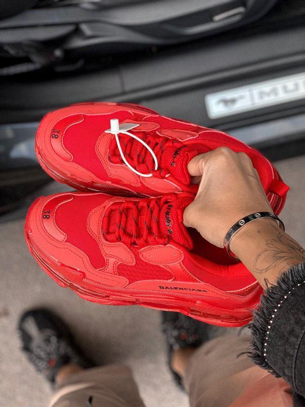 Шикарные хайповые кроссовки со слоённой подошвой унисекс 😍 (ве... - Фото 4