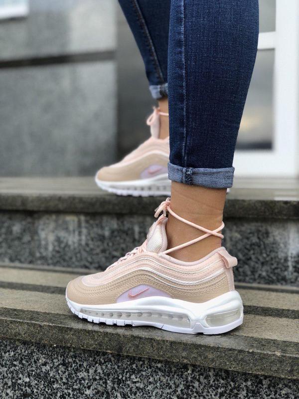 Шикарные женские кроссовки nike air max 97 pink 😍 (весна/ лето... - Фото 4