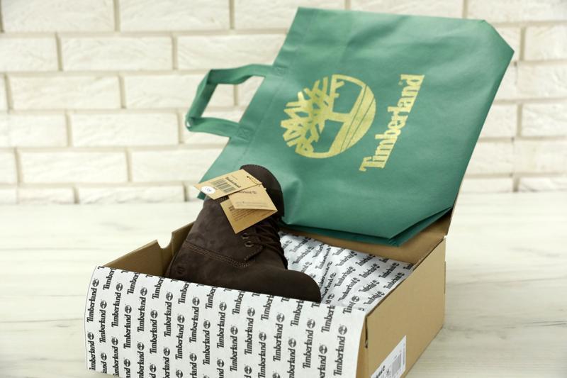 Шикарные зимние женские ботинки/ сапоги timberland brown fur 😍... - Фото 6