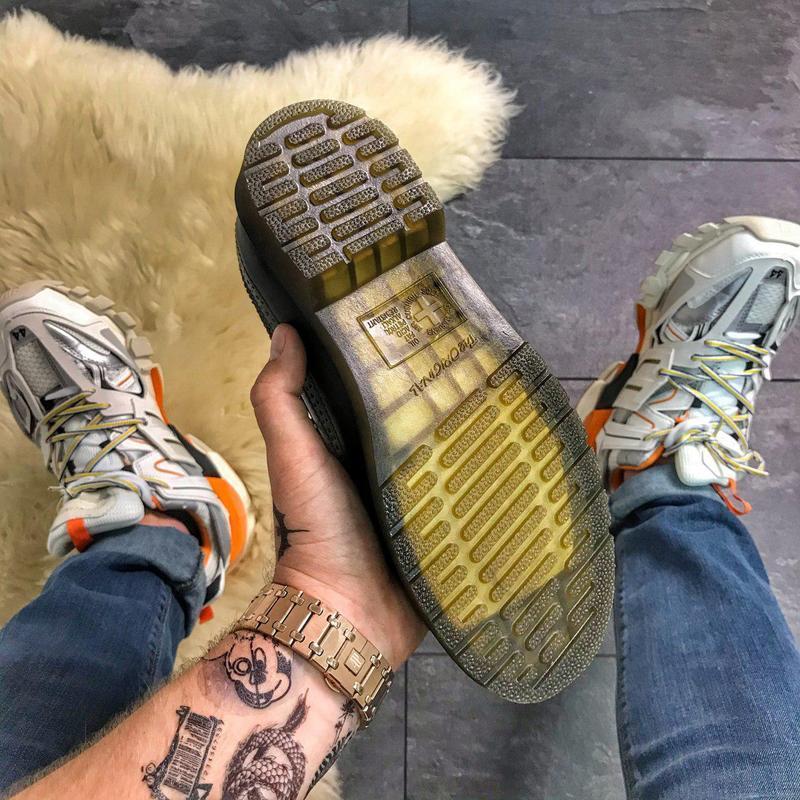 Шикарные кожаные туфли/ броги dr. martens 1461 white (унисекс) 😍 - Фото 5