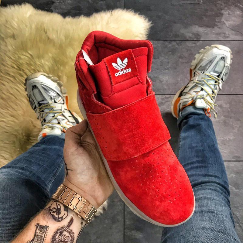 Шикарные мужские демисезонные кроссовки adidas tubular invader... - Фото 2