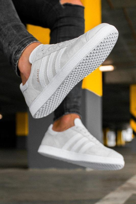 Шикарные кроссовки adidas gazelle grey унисекс 😍 (весна/ лето/... - Фото 4
