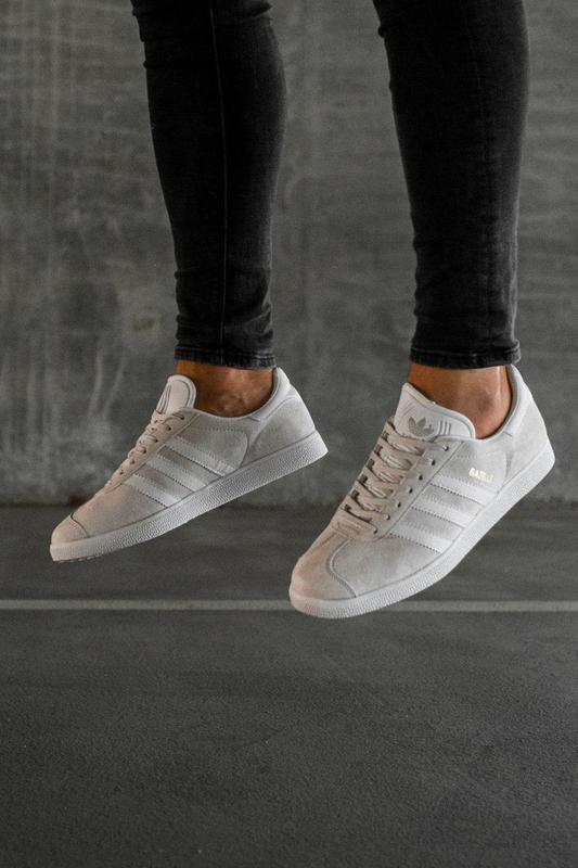 Шикарные кроссовки adidas gazelle grey унисекс 😍 (весна/ лето/... - Фото 5