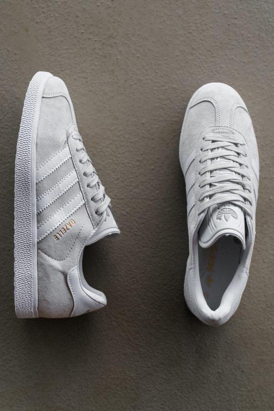 Шикарные кроссовки adidas gazelle grey унисекс 😍 (весна/ лето/... - Фото 7