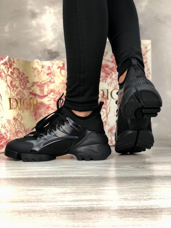 Шикарные женские хайповые кроссовки чёрного цвета 😍 {весна/ ле... - Фото 4