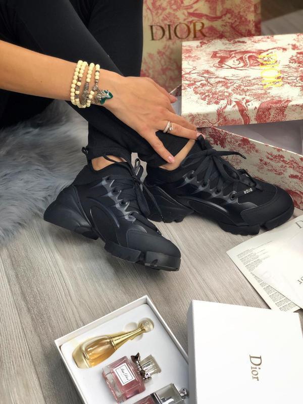 Шикарные женские хайповые кроссовки чёрного цвета 😍 {весна/ ле... - Фото 5