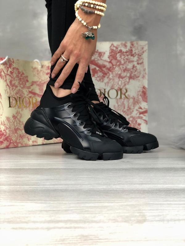 Шикарные женские хайповые кроссовки чёрного цвета 😍 {весна/ ле... - Фото 6