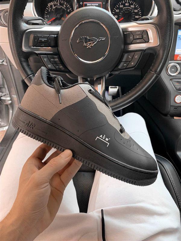 Шикарные мужские кроссовки nike air force cold wall black 😍 (в...