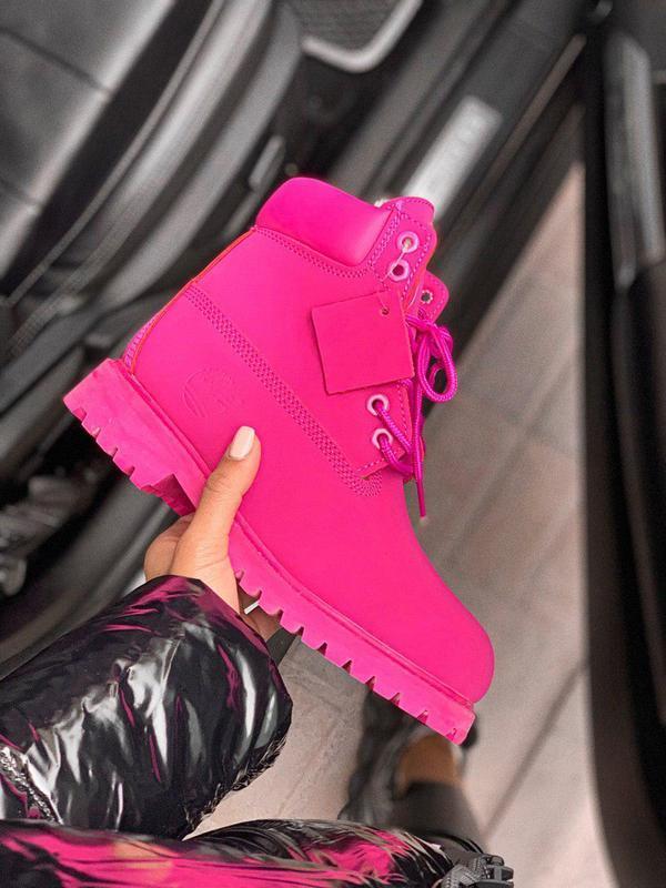 Шикарные женские зимние ботинки/ сапоги classic boot violet fu...