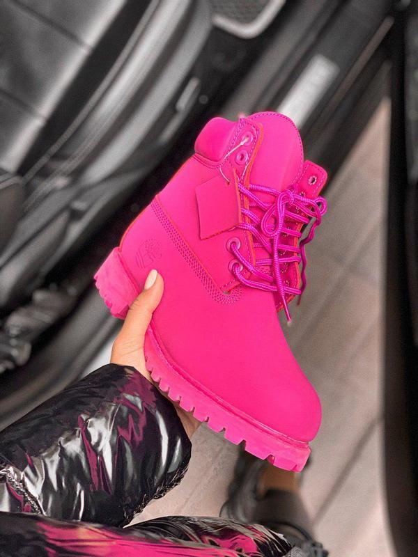 Шикарные женские зимние ботинки/ сапоги classic boot violet fu... - Фото 2