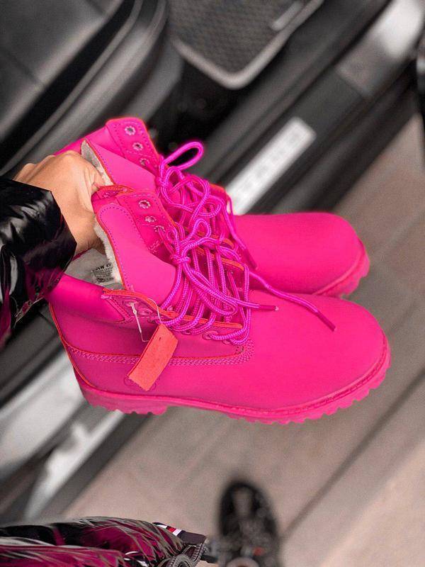 Шикарные женские зимние ботинки/ сапоги classic boot violet fu... - Фото 5