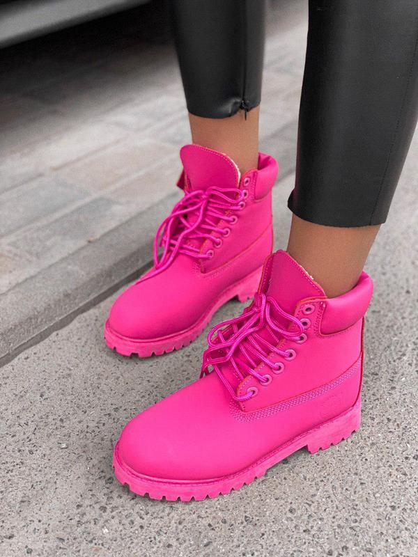 Шикарные женские зимние ботинки/ сапоги classic boot violet fu... - Фото 8