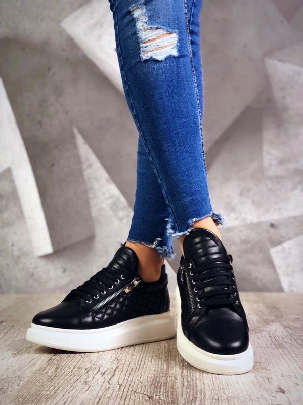 ❤ невероятные женские кроссовки с молниями сбоку ❤ - Фото 2