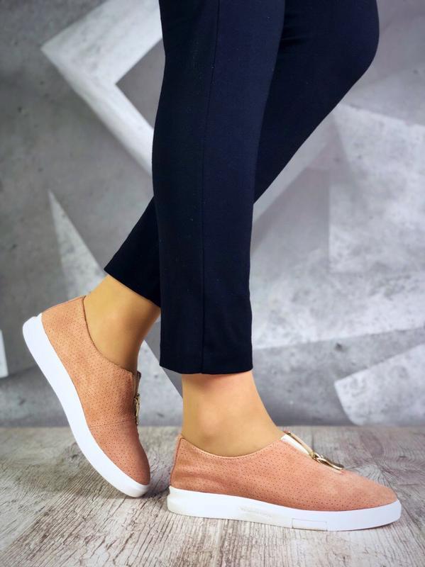 ❤невероятные женские стильные слипоны - Фото 3
