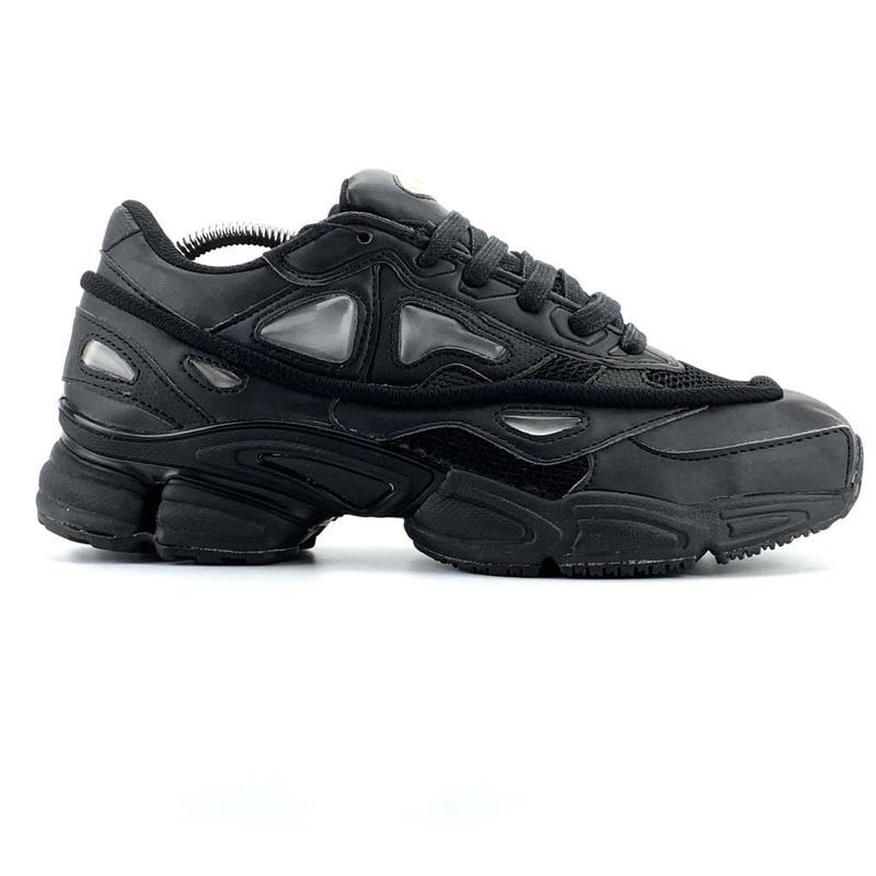 Мужские кроссовки adidas raf simons ozweego black  41-43 - Фото 6