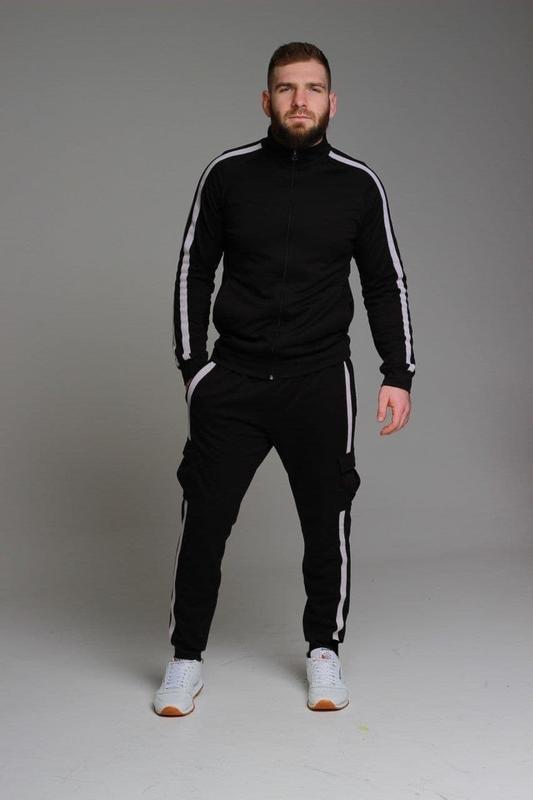 Мужской спортивный костюм. кофта, спортивные штаны.