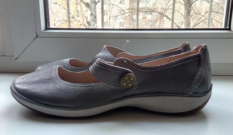 Фирменные кожаные туфли clarks(original)