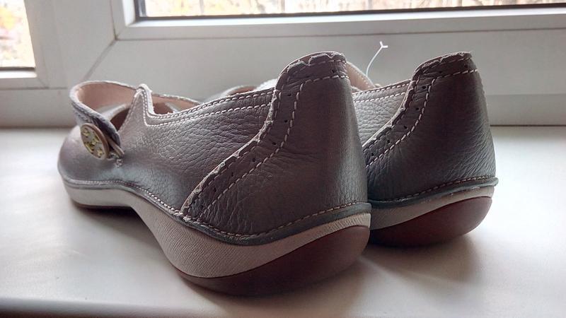 Фирменные кожаные туфли clarks(original) - Фото 2