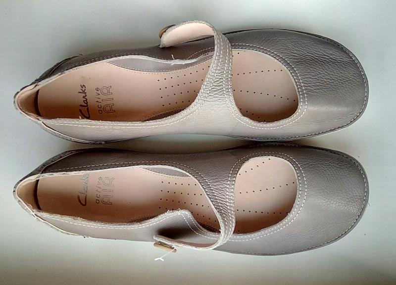 Фирменные кожаные туфли clarks(original) - Фото 3