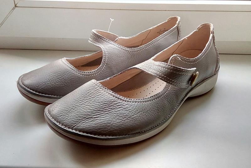 Фирменные кожаные туфли clarks(original) - Фото 4
