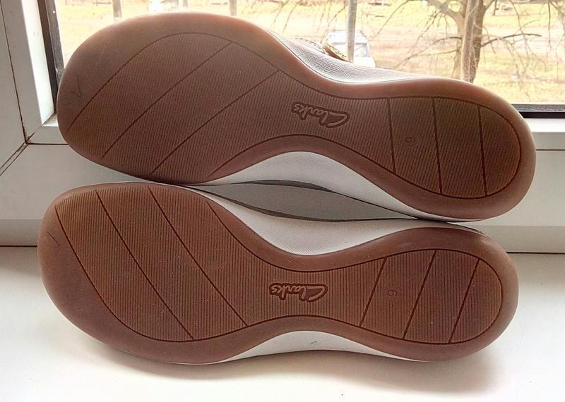 Фирменные кожаные туфли clarks(original) - Фото 5