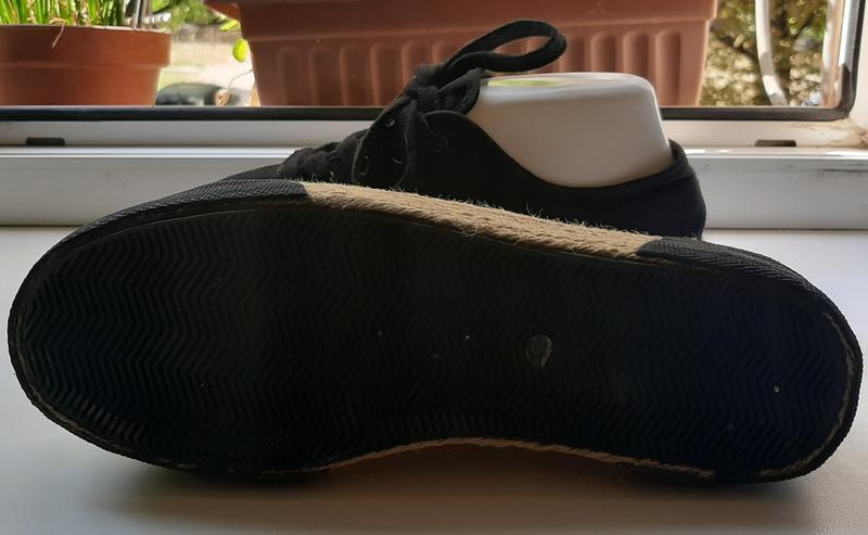 Стильные кеды на джутовой подошве-поатформе f&f. - Фото 7