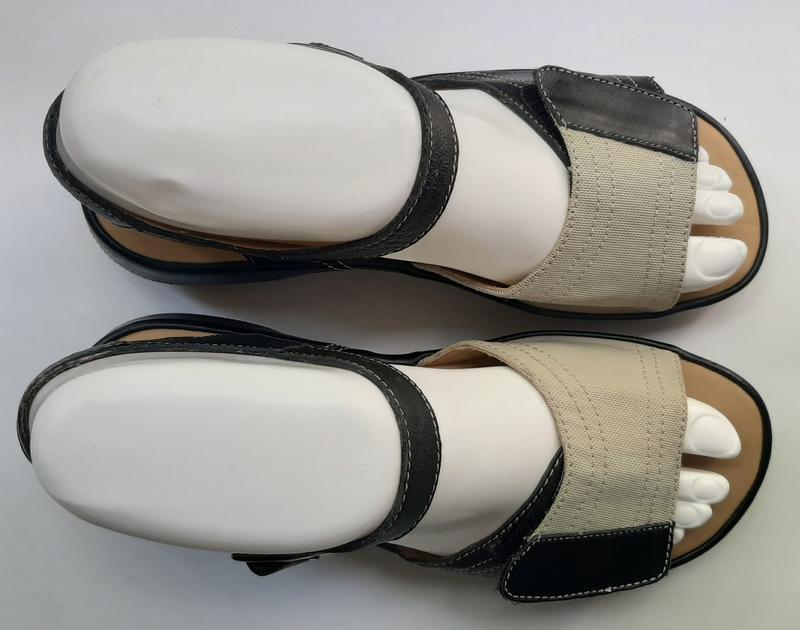 Фирменные кожаные босоножки sсholl. - Фото 6