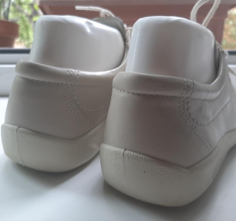 Фирменные кожаные мокасины ecco(original) - Фото 4