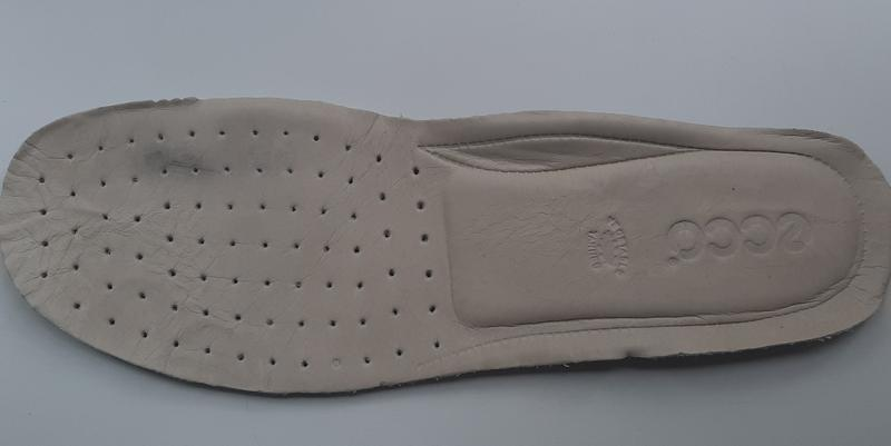 Фирменные кожаные мокасины ecco(original) - Фото 5