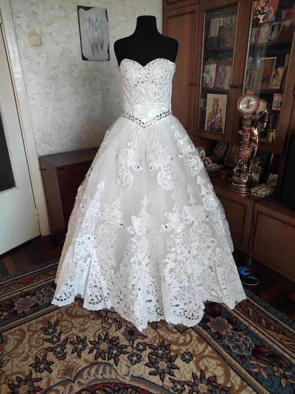 Свадебное платье. 46-48р.